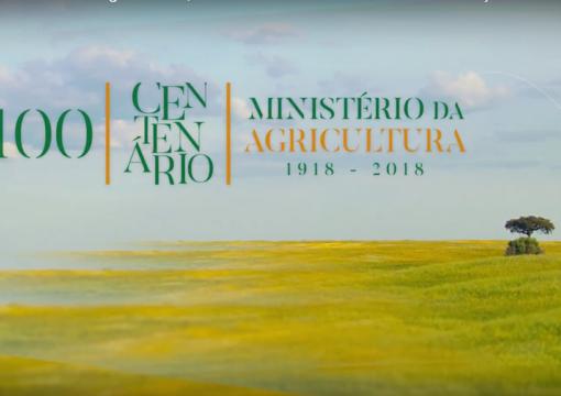 O Ministério da Agricultura faz 100 anos (Video)