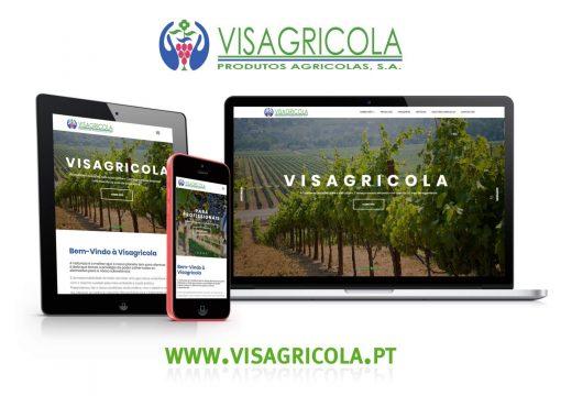 Novo Website Visagricola